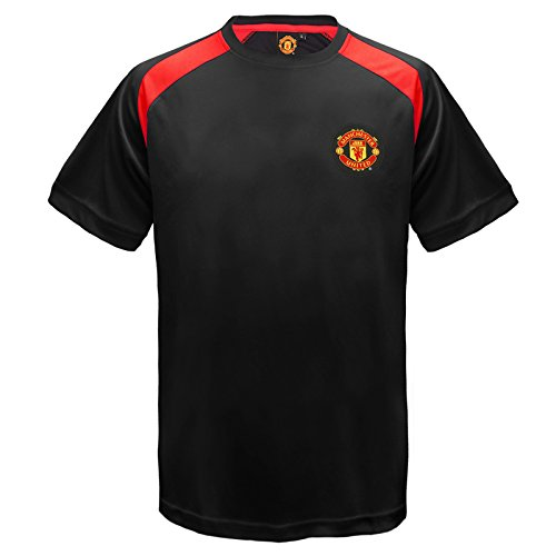 manchester-united-fc-official-boys-poly-training-kit-t-shirt-black-12-13-yrs-xlb