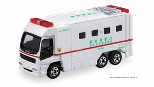 TOMY Tomica #116 Isuzu Giga Super JAPAN Ambulance - 1