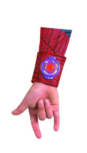 The Amazing Spider-man Movie Light Up Web Shooter Deluxe Costume, Red/Blue, One Size - 1