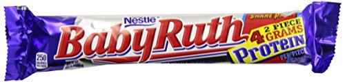 Nestle Baby Ruth Share Pack, 3.7-Ounce Candy Bars (Pack of 18) (Baby Ruth Chocolate compare prices)