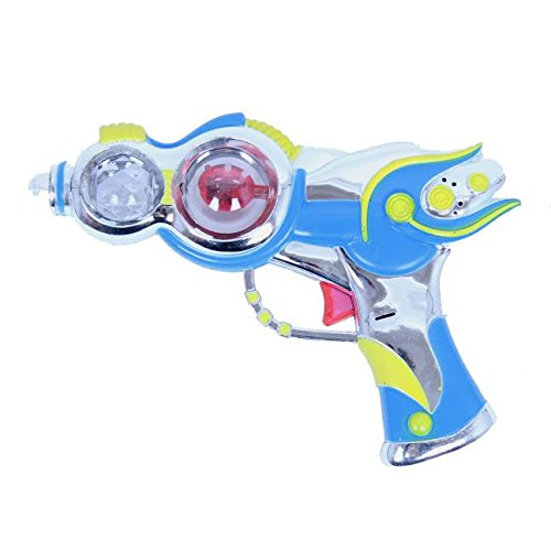 Dazzling Toys Lights and Sound Toy Pistol (D261)