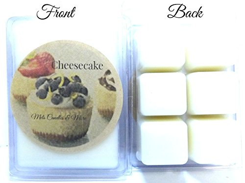 [3.2oz Pack of Soy Wax Tart -Scent Bars Melts aroma cubes wax melts ++ ++ Cheesecake] (Farmer Costume Party City)