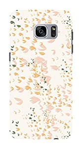 Koveru Back Cover Case for Samsung Galaxy S7 - Light colour Pattern
