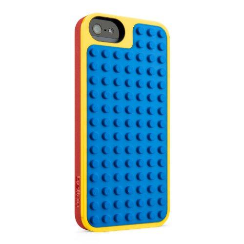Lego Bastelschutzhülle  geeignet für Apple iPhone 5  gelb rot