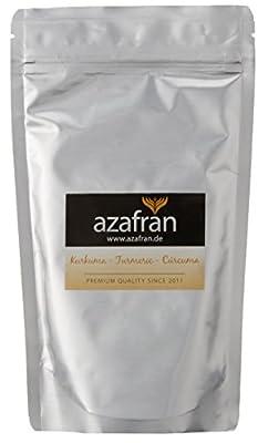 BIO-Kurkuma | Kurkumawurzel gemahlen (250g) von Azafran®