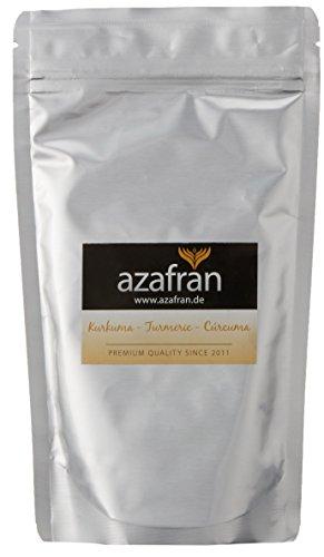 BIO-Kurkuma - Kurkumawurzel gemahlen (250g) von Azafran®