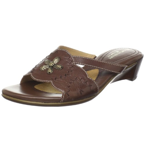 Naturalizer Women's Jetset Slide Sandal,Coffee Bean,6 N US