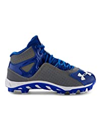 Under Armour Boys' UA Spine™ Heater Mid ST Baseball Cleats