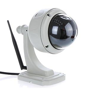 EasyN Wifi Drahtlose HD IP  Webcam Wasserdicht IR Nachtsicht COMS Wifi 802.11 b / g, kostenlos unterstützt DDNS system Horizontal 355 ° vertikal 90 °  BaumarktKritiken und weitere Informationen