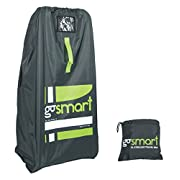goSMART XL Stroller Travel Bag NEW DESIGN for Double Strollers Jogging Stroller and Travel Systems | Ballistic Nylon | Gate Check Bag | Flight Travel Gear | Baby Gear