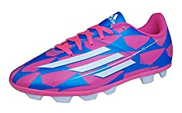 Adidas Boy\'s F5 Hard Ground Football Boots US6 Pink