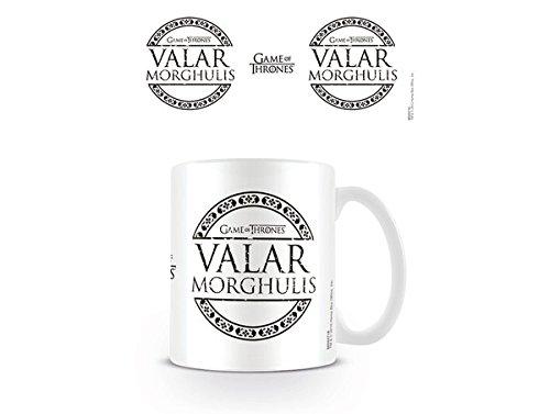 Game of Thrones-Valar Morghulis-Tazza in ceramica, multicolore