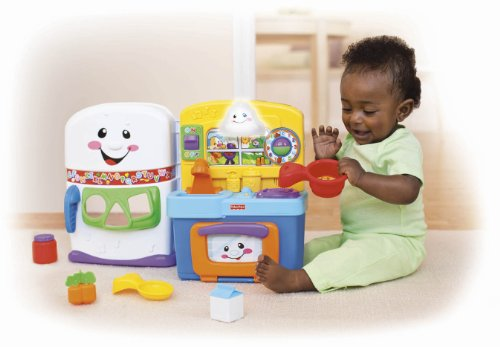 Fisher Price Laugh Learn Learning Kitchen Activity Center Toys Games Toys Pretend Play Toy