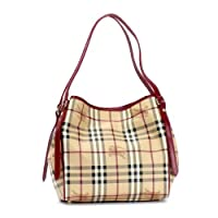 バーバリー バッグ ショルダーバッグ BURBERRY HYM SM CANTEBURY MCO COLOURS SMALL CANTEBURY TOTE 6080T MILITARY RED 3799356 並行輸入品...