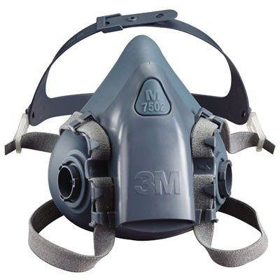 3M 7501 7500 Series Professional Half Facepiece Respirator (Small)