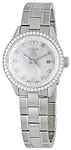 TAG HEUER CARRERA WV1413.BA0793 LADIES DIAMONDS STAINLESS STEEL CASE DATE WATCH