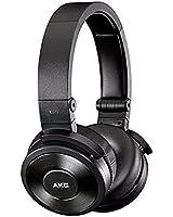 AKG K619 Casque Audio DJ Haute Performance avec Micro et Commande intégrés - Noir