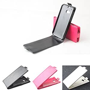 Amazon.com: Magnetic Flip-open PU Leather Protective Case For HTC M8
