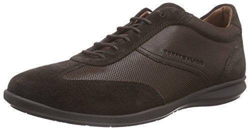 Tommy HilfigerO2285LIVER 15C - Zapatillas Hombre , color Marrón, talla 42 UE