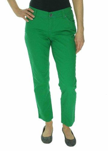 INC International Concepts Women's Skinny Leg Curvy Fit Jeans Gorgeous Green 4