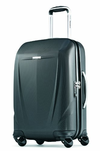 Samsonite Luggage Silhouette Sphere 22 Inch Spinner, Black, One Size B00AFUI39A