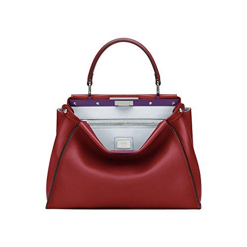 fendi-regular-peekaboo-currant-red-leather-handbag-black-edges
