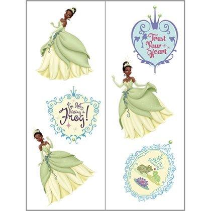 Princess and the Frog Tattoos 2 Sheets - 1