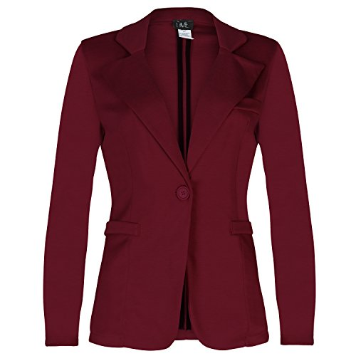 contenta-womens-solid-boyfriend-blazer-in-knit-with-inner-beauty-x-small-burgundy