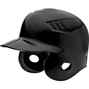 Rawlings CFABH Batting Helmet (Black, Small)