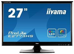 iiYama ProLite E2773HS-GB1 Ecran PC LCD 27'' 1920x1080 1 ms VGA DVI-D/HDMI Noir