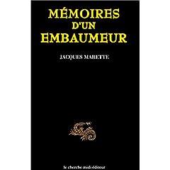 Mémoires d'un embaumeur