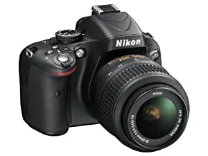 Nikon D5100 Appareil photo numérique Reflex 16.2 Kit Objectif VR 18-55 mm Noir