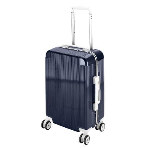 キャプテンスタッグ(CAPTAIN STAG) シック トラベルスーツケース TSAロック付きコンパクトタイプ ネイビー UV-48
