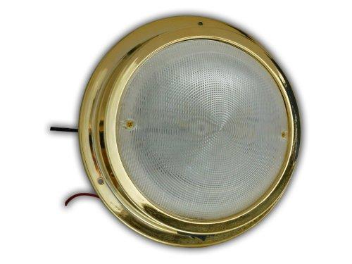 12V Led Round Ceiling Dome Interior Cool Light - Caravan, Boat & Rv- Five Oceans