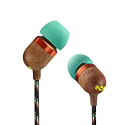 House Of Marley EM-JE000-RA Smile Jamaica In-Ear Headphone (Rasta)