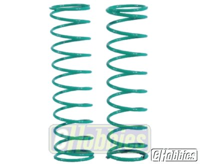 "Team Losi 2.5"" Spring 3.7 Rate, Green"