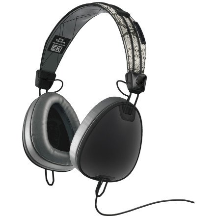 Skullcandy Aviator Headphones W/Mic3 Eric Koston Collab/Snake/Black, One Size