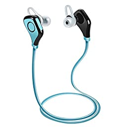 PECHAM S5 CSR4.0 Wireless Bluetooth Headphones with Mic Bluetooth Sport Wireless Headsets In-Ear Earbuds Sweatproof Running Gym Exercise Earphones for Iphone,Android Smart Phones, Bluetooth Devices