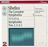 Sibelius: The Complete Symphonies, Vol.1, nos 1,2,4,5