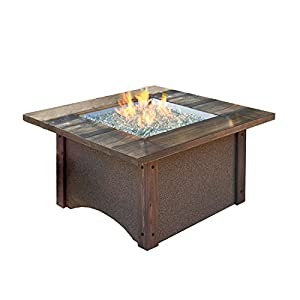 Outdoor greatroom pine ridge chat height fire for Amazon prime fire pit