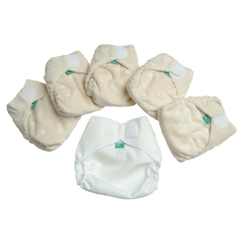 TotsBots Bamboozle Stretch Size 2 Mini Pack Nappy (5 Pack,8lbs-35lbs)