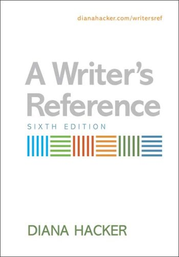 A Writer&#39;s Reference