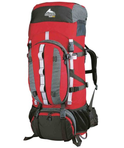 Gregory Denali Pro 105 Mountaineering Pack (Chili Red,Large)
