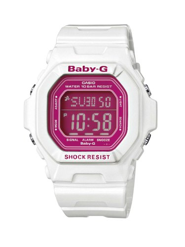 Baby-G Casio Ladies Digital Watch BG-5601-7ER with Resin Strap