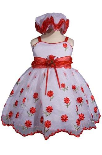 57a467308e775 AMJ Dresses Inc Red Infant Flower Girl Christmas Dress Size Xl