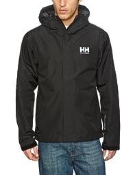 Helly Hansen Men\'s Seven J Jacket, Black, XX-Large