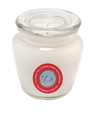 The Soi Co. Moisturizing Keepsake 16-Oz. Candle, Cranberry Chutney