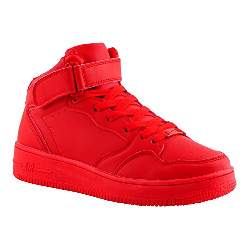 damen-herren-sportschuhe-sneaker-high-low-turn-skater-komplett-rot-basketball-schuhe-rot-high-m-eu-4