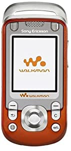 Sony Ericsson W600i Unlocked Walkman Phone - Orange