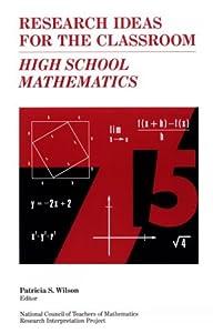 "Cover of ""High School Mathematics (Resear..."